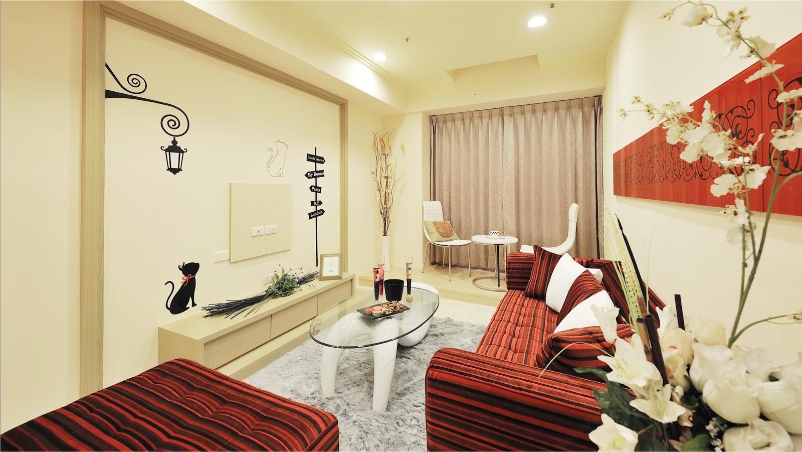 聖全室內設計-溫馨套房